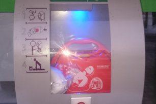 der neue Dorf – Defibrillator